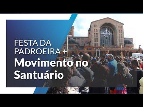 12 de outubro: Time-lapse mostra o movimento do Santuário