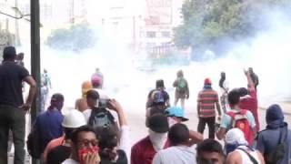 «Мать всех маршей»: тысячи граждан Венесуэлы выходят на протесты
