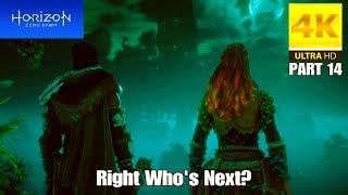 Horizon Zero Dawn PS4 PRO 4K 60 FPS - Right Who's Next? (Part 14)