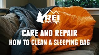 How to Clean a Sleeping Bag || REI