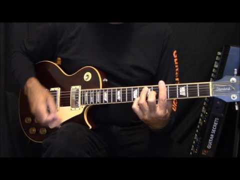 Blues rhythm guitar lesson. The guitar chords are A7 D7 E7