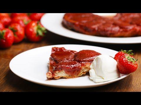French-Style Strawberry Tart (Tarte Tatin)