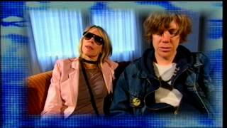 Kim Gordon and Thurston Moore from Sonic Youth talk about Ciccone Youth 'Addicted To Love' video
