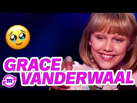Grace (12) imponerte med egen låt i finalen