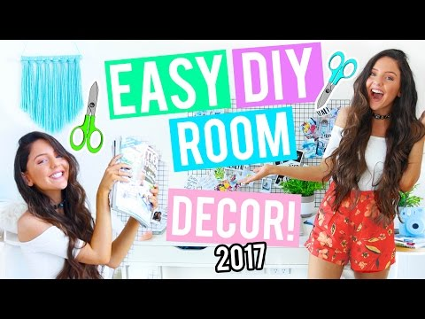 DIY Room Decor & Organization For 2017! CHEAP + EASY Ideas Inspired by Pinterest!