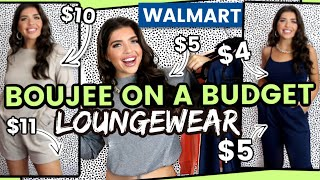 WALMART HAUL | Walmart Clothing Haul *AFFORDABLE LOUNGEWEAR* 2020 | Boujee On A Budget #WalmartHaul
