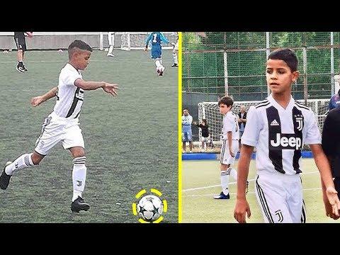Cristiano Ronaldo Jr ● Habilidades, goles ● Juventus 2018