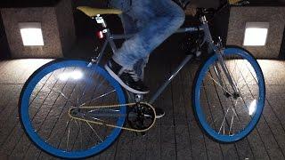 Skid fixie bike