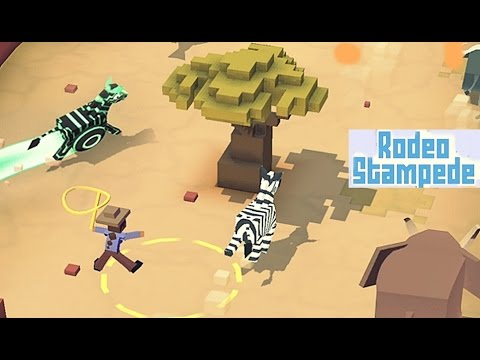 Rodeo Stampede Sky Zoo Safari - Android Gameplay HD