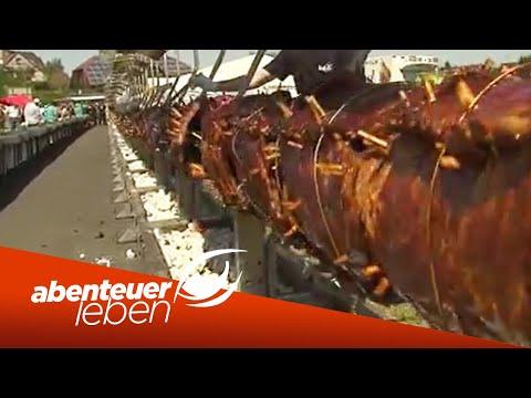 Der längste Grillspieß der Welt | Abenteuer Leben