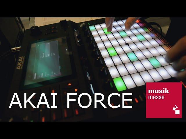 Akai Force - рабочая станция (Musikmesse 2019)