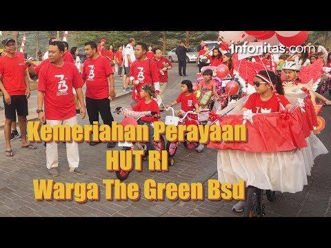Kemeriahan Perayaan HUT RI Warga The Green BSD
