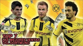 Borussia Dortmund, el REY del NEGOCIO | TOP 7 Ventas más ALTAS