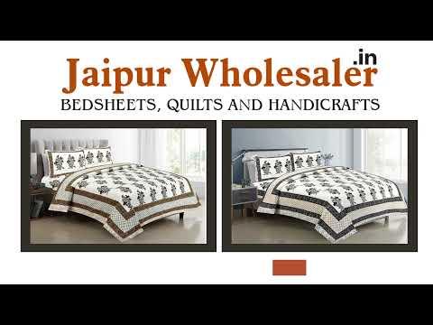 Jaipur Wholesaler - Leading Bed Sheet & Quilt Manufacturer