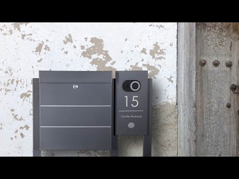 Edelstahl Standbriefkasten BRENTANO Elegance - Briefkasten Manufaktur Lippe