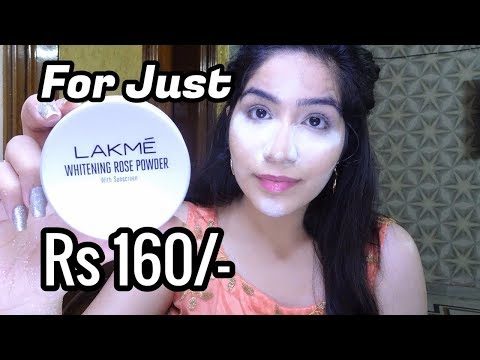 Most Affordable Loose Powder In India || Lakme White Rose Powder Review
