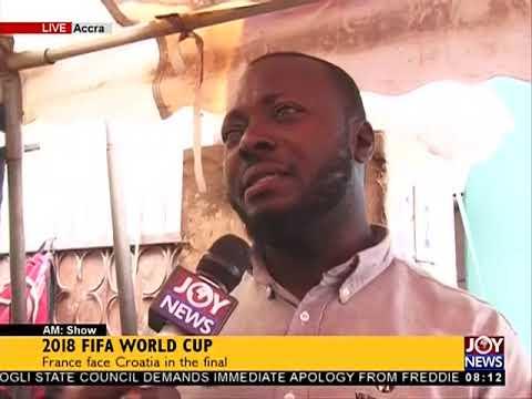 2018 FIFA World Cup - AM Sports on JoyNews (13-7-18)