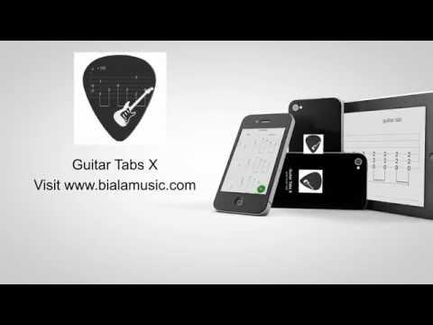 Guitar Tabs X - app editor of guitar and bass tablatures