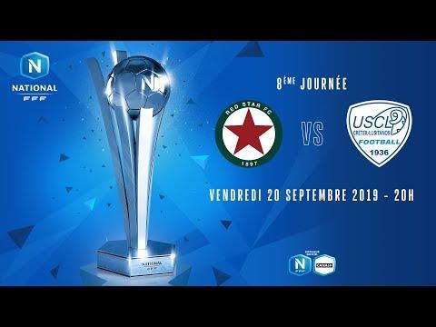 8e journée : Red Star - Créteil I National FFF 2019-2020