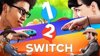 1-2 Switch Full Game (All Minigames)