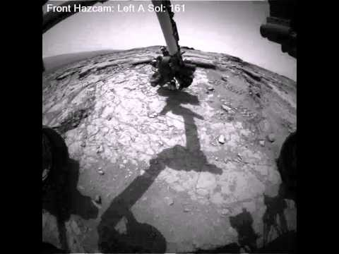 Nine Month Time-Lapse of Photos Taken on Mars by the Curiosity Rover