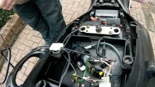 How To Wire A GIVI Top Box Final Part