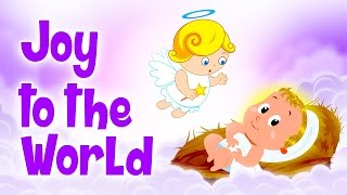 ❄♫ Joy To The World ♫🔔Famous Christmas Songs For Kids 🔔 Animated Christmas Carols For Children ♫🔔❄