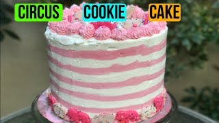 How To Make A CIRCUS COOKIE CAKE  |  Baking With Ryan Episode 44