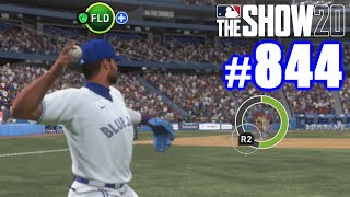 SENIOR NAILS HIM AT THE PLATE! | MLB The Show 20 | Road to the Show #844