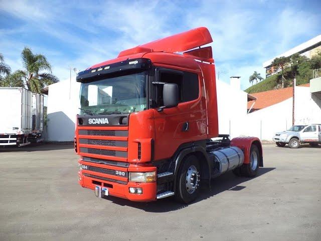 Vídeo do caminhão R124 360 4x2