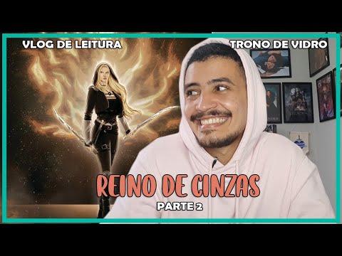 VLOG DE LEITURA: REINO DE CINZAS PARTE DOIS DEUSES E PORTÕES (VLPR #13) | Patrick Rocha