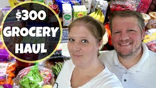 GROCERY HAUL AND MEAL PLAN   NON FOOD ITEMS