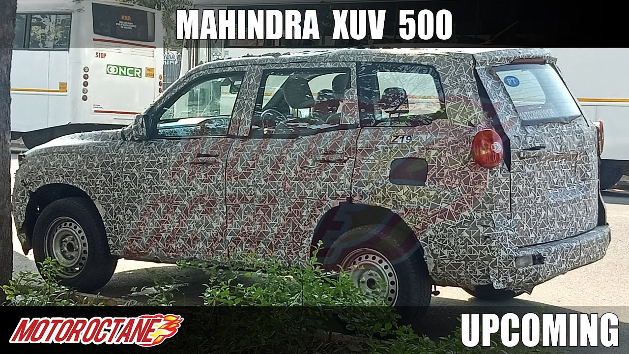 Motoroctane Youtube Video - All New Mahindra XUV500 Launch Time Revealed | Hindi | MotorOctane