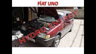 Fiat Uno SX hidrojen yakıt tasarruf sistem montajı