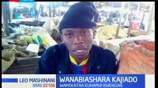 Wanabiashara Kajiado wamekata kuhamia kwengine ili kupisha ujenzi wa soko jingine
