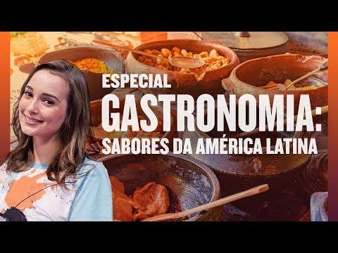 Conheça a gastronomia da América Latina
