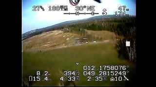 FPV Kopterflug - Mikrokopter C-OSD live out