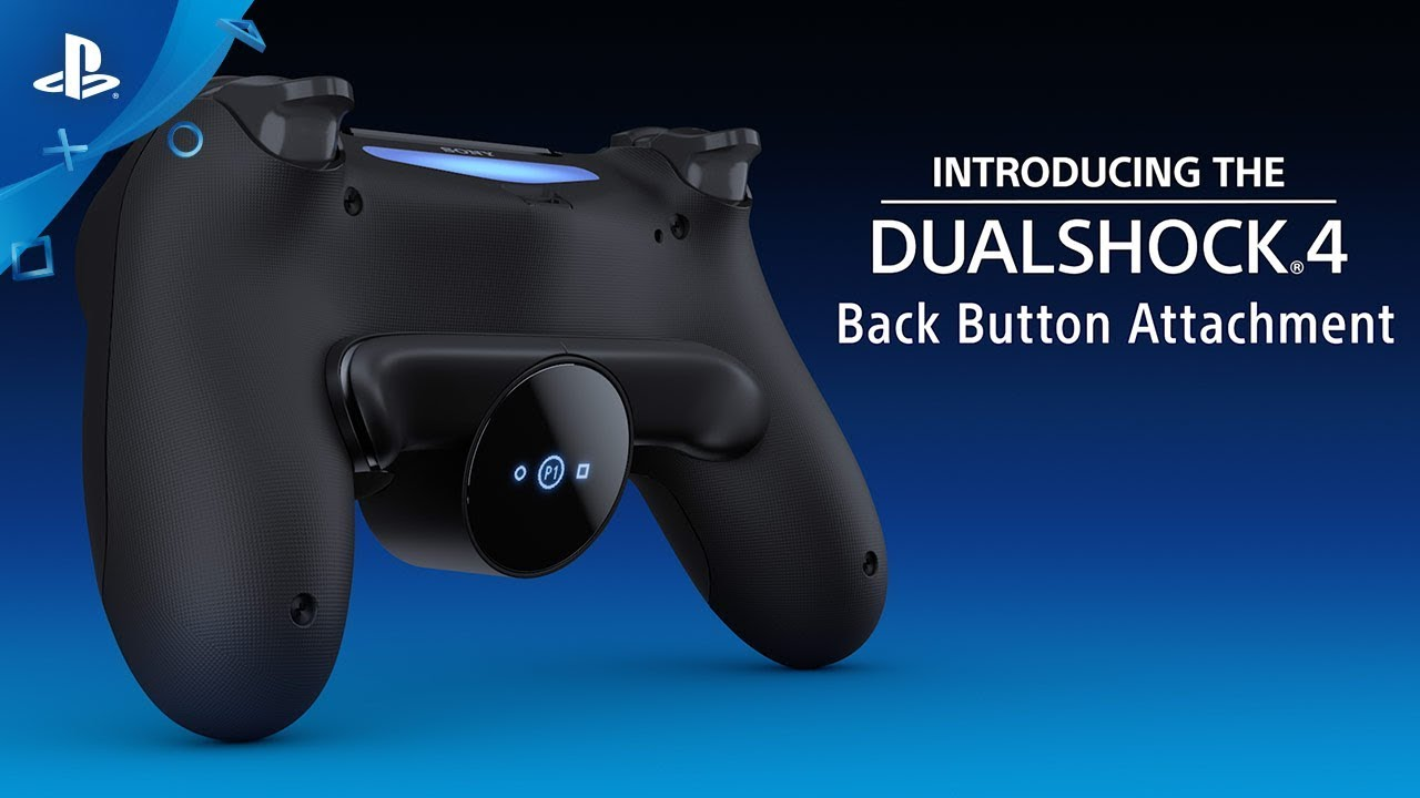 DualShock 4 Back Button Peripheral Adds 2 New Buttons To PS4 Controller