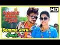 Saravanan Irukka Bayamaen Movie Scenes   Semma Joru Video Song   Udhayanidhi Stalin   Srushti Dange