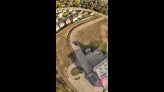 Upside Down Diving Flippy Floppy Touchdown Twirly Thingamajig! Epic #FPV Drone Flying! #Shorts