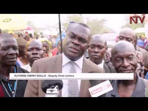 Deputy Chief Justice Owiny-Dollo meets Gulu-Namugongo pilgrims