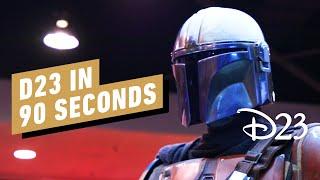 D23 Expo Show Floor in 90 Seconds