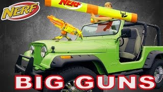 Ultimate NERF Car (Jeep Build)