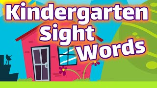 Kindergarten Sight Words | Dolch List Video