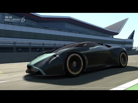Aston Martin Pulls The Virtual Covers Off DP-100 Concept
