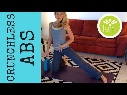 15-min Crunchless Abs (safe for prolapse and diastasis recti) | FemFusion Fitness