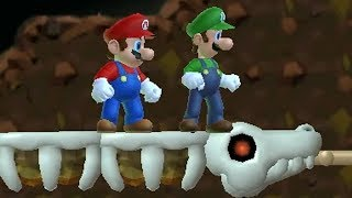 Newer Super Mario Bros Wii Co Op (2 Player) Walkthrough   Part 2   Rubble Ruins