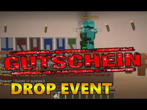 MINECRAFT: DROP EVENT GUTSCHEINE BISS ZU 1.000€