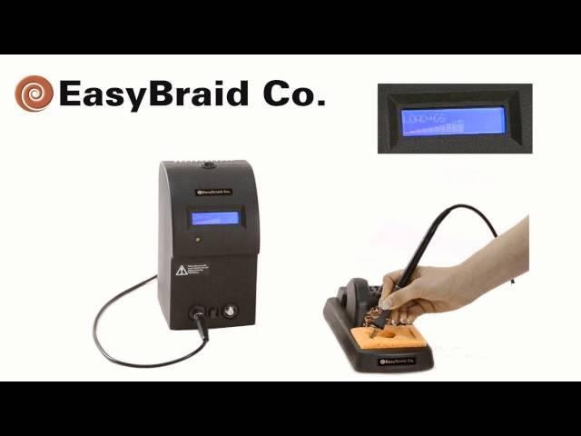 Basics of soldering with EasyBraid's soldering tips