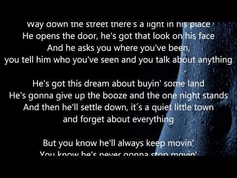 "Gerry Rafferty - Baker Street - HQ - Scroll Lyrics ""22"""
